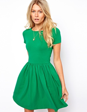 greenasosskaterdress