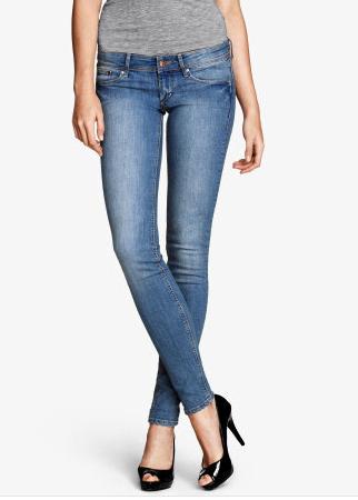hm jeans under 100