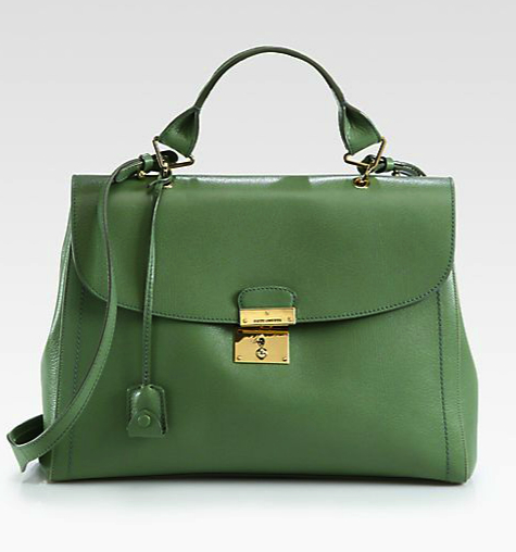 marc jacobs green bag