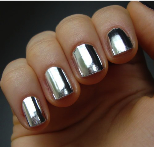 metallic nail foil wraps