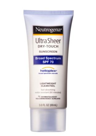 neutrogena sunblock