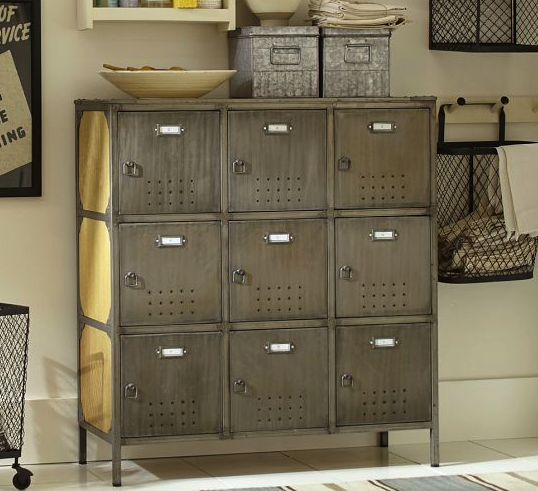 pottery barn lockers