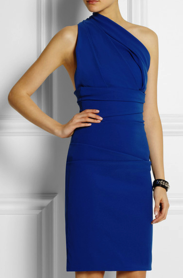 preen blue dress net