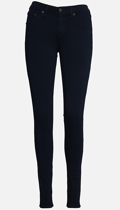 rag and bone navy plush jeans