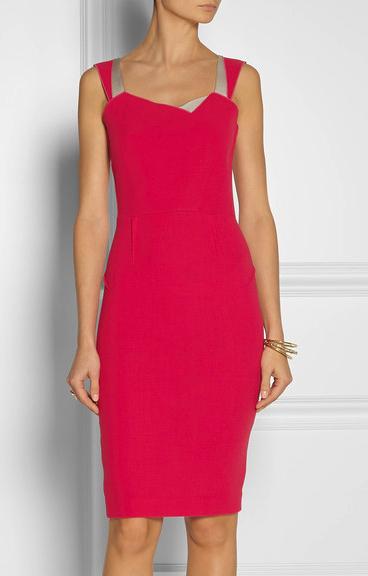 roland mouret pink dress net