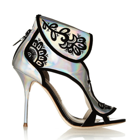 sophia Webster holographic shoes