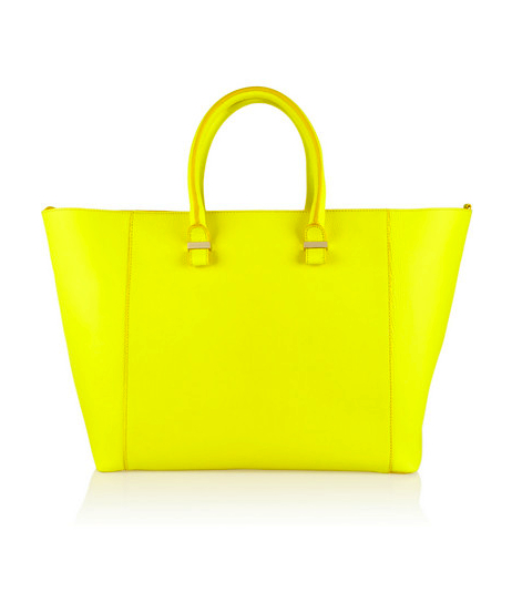 victoria beckham colored bag
