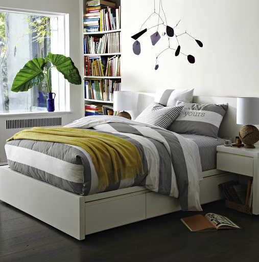 west elm storage bed frame
