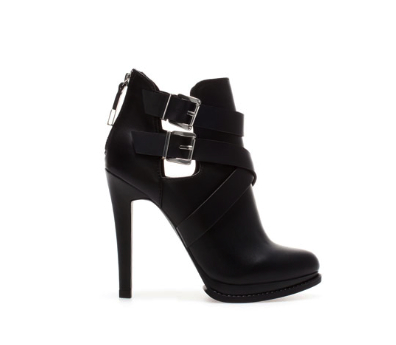 zara ankle boot under 100