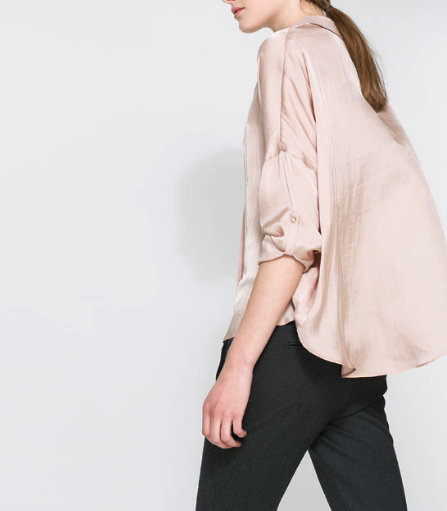 zara blouse under $100