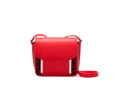 zara red bag