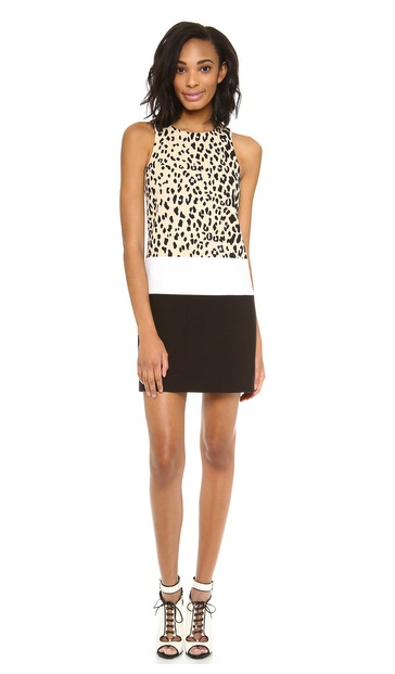 4. collective leopard dress