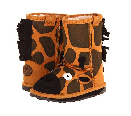 Emu Australia giraffe boots