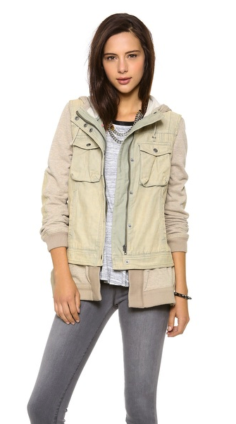 Free People layered jacket