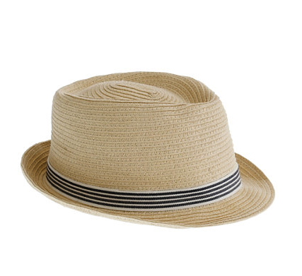 J crew trilby hat
