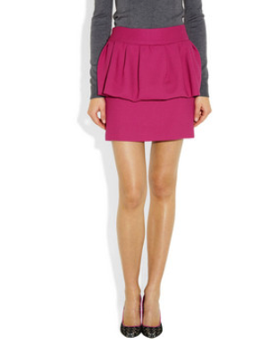 Milly peplum skirt
