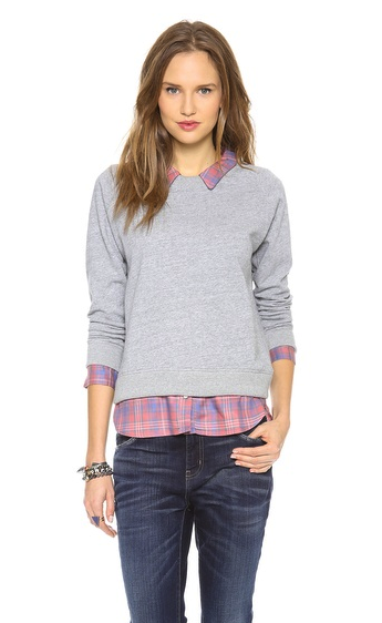 NSF sweatshirt:shirt combo