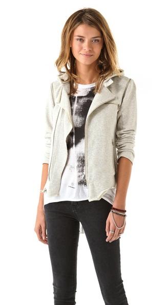 Pencey Standard moto jacket:vest