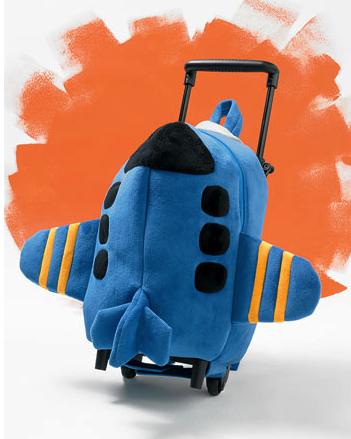 Popatu rolling backpack