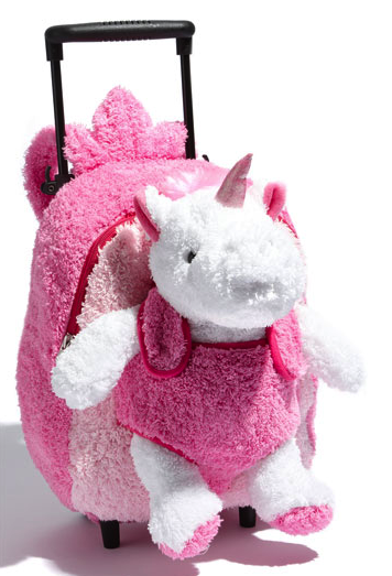 Popatu rolling unicorn backpack