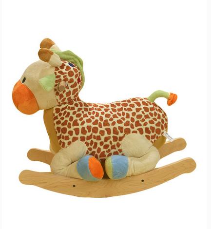 Rockabye giraffe rocker