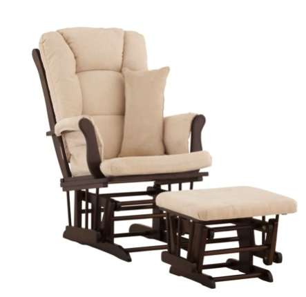 Stork Craft glider with ottoman