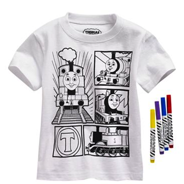 Thomas & Friends doodle tee