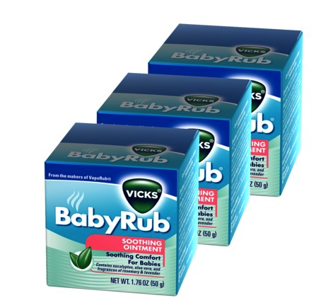 Vicks baby rub 3 pack