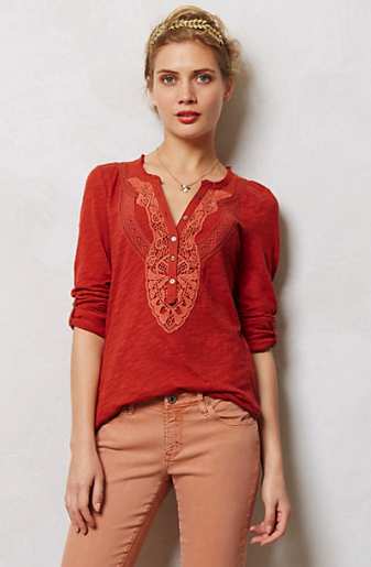 anthropologie henley