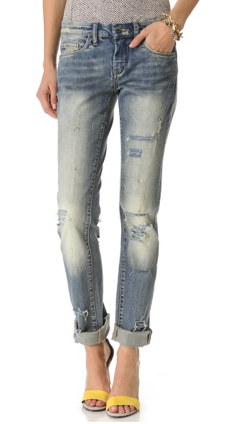blank relaxed jeans