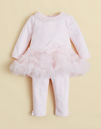 bloomies tutu top and leggings set