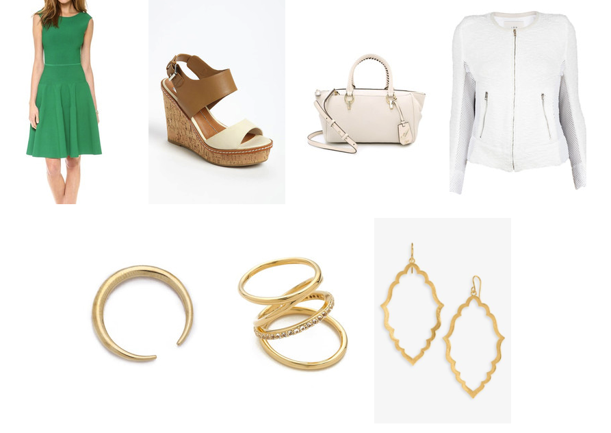 brights and white - white accesories for work