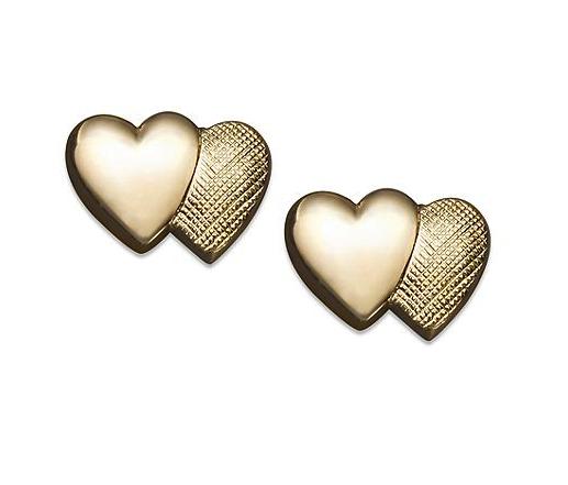 children's heart earrings
