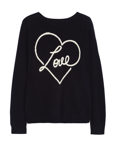 chinti & Parker cashmere love sweater