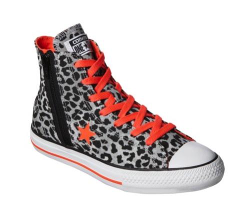 converse leopard print hightops