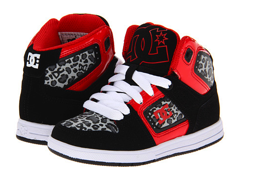 dc kids sneakers