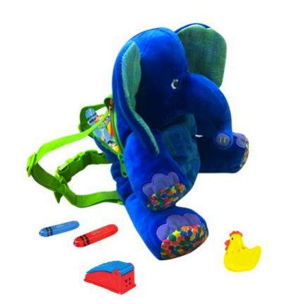 eric carle elephant backpack