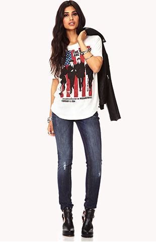 forever21 distressed jeans