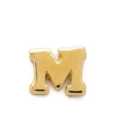 jacquie aiche alphabet earring