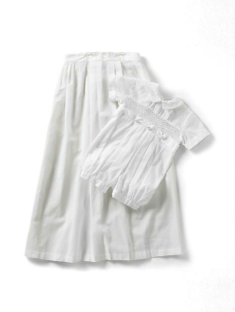 kissy kissy christening gown:suit