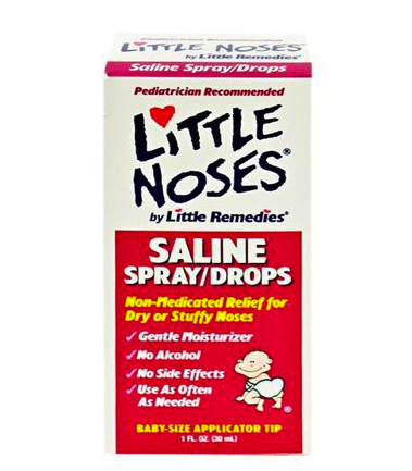 little remedies nasal saline drops