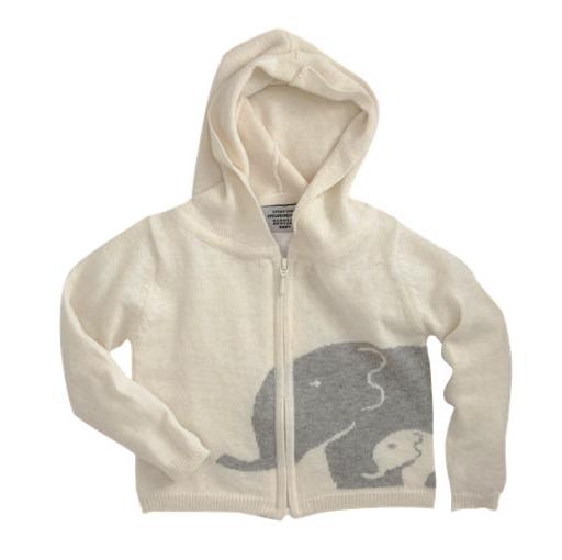 lucky jade elephant hoodie
