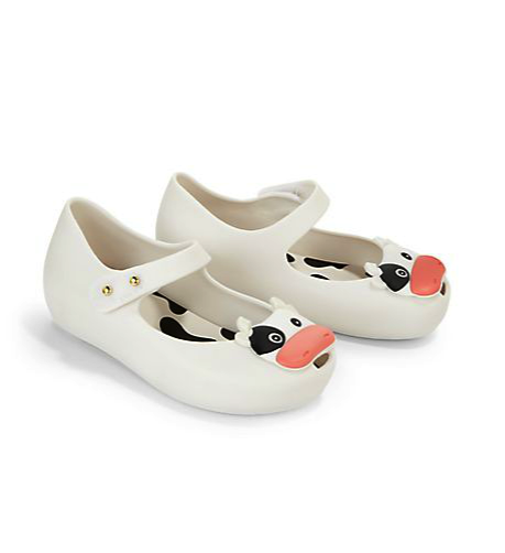 mini Melissa cow mary janes