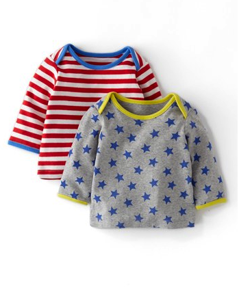 mini boden t-shirts pack of 2