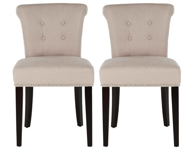 one kings lane pair of dining chairs