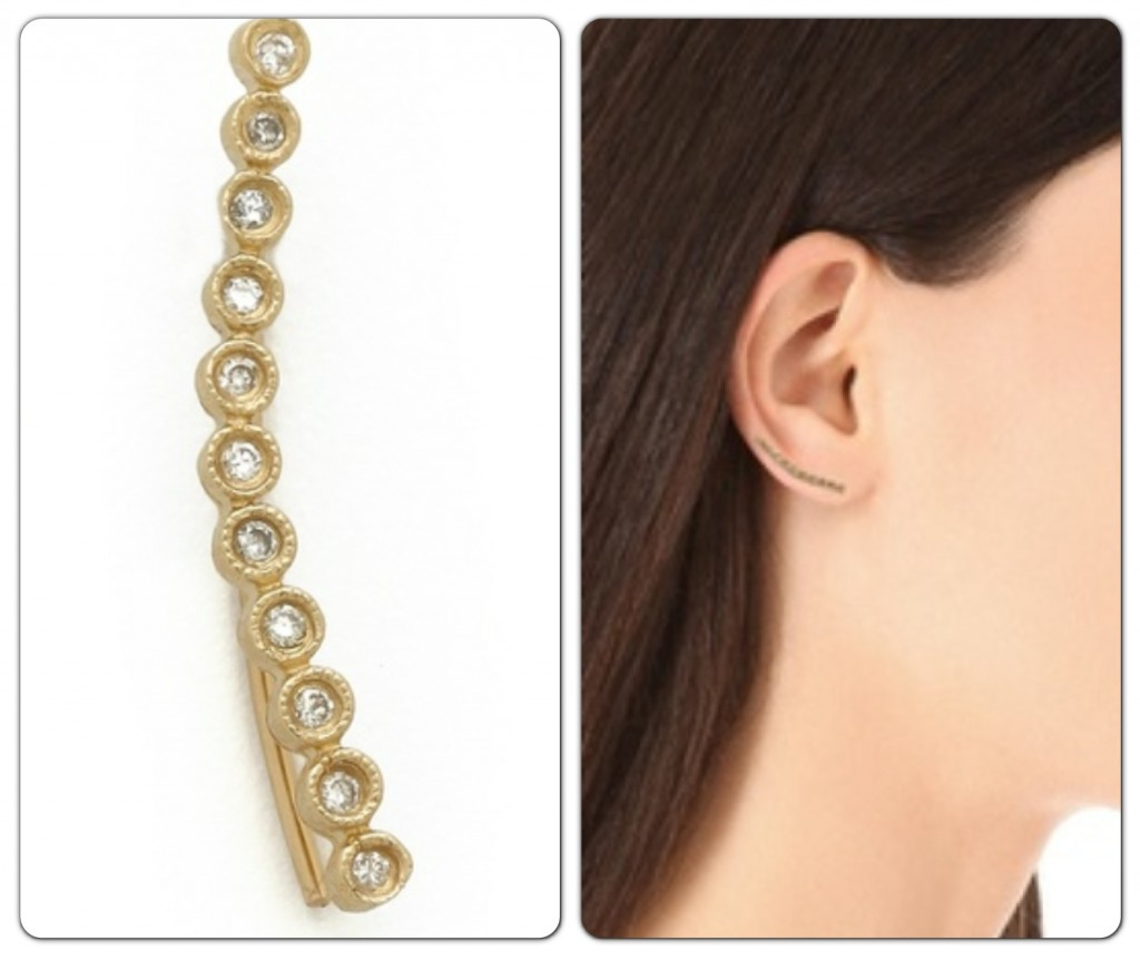 jacquie aiche diamond ear cuff