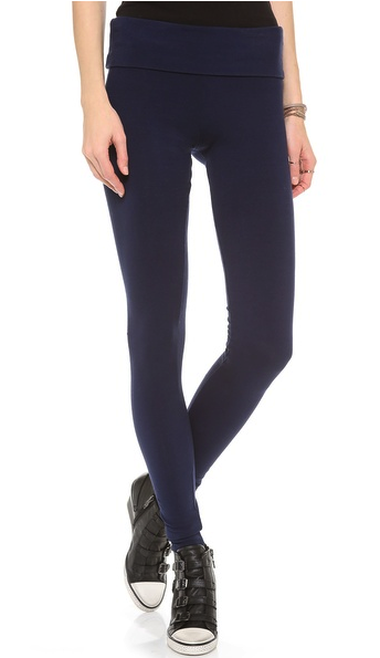 solow fold over leggings