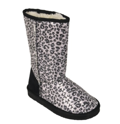Momma Loves Leopard Print Accessories Red Soled Momma
