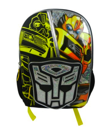 transformers light up backpack