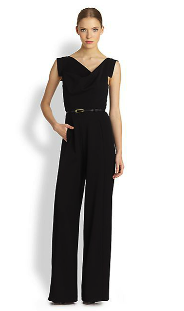 Black Halo jumpsuit